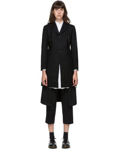 Черное пальто с карманами Comme Des Garçons Comme Des Garçons