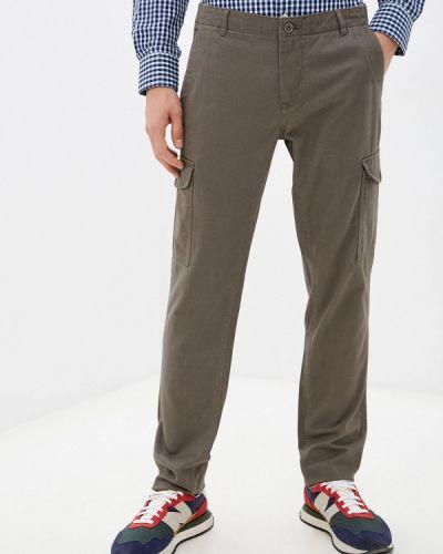 Коричневые зимние брюки карго J. Hart & Bros