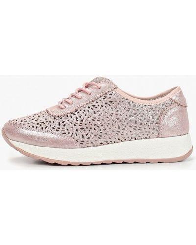 Кроссовки розовый низкие Madella