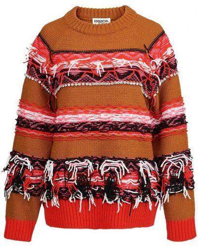 Pomarańczowy pulower Essentiel Antwerp