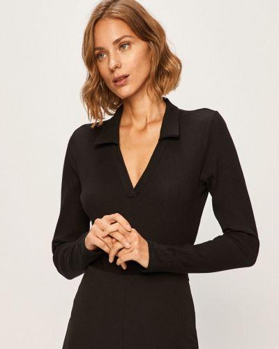 Блузка с длинным рукавом боди однотонная Glamorous