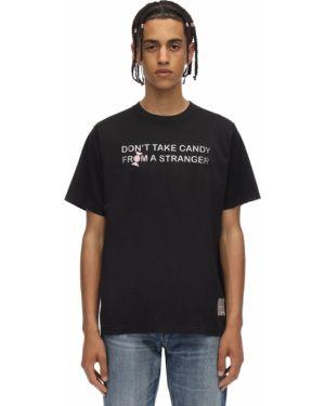 Czarny t-shirt bawełniany Klsh - Kids Love Stain Hands