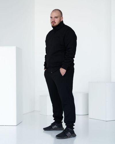 Флисовый спортивный костюм - черный Rozetka
