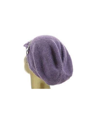 Фиолетовая шапка Patrizia Pepe