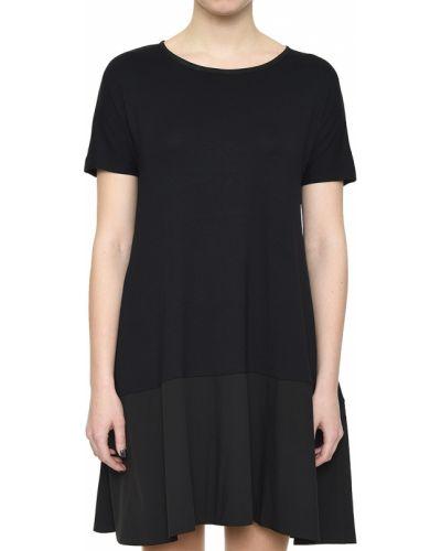 Хлопковое платье - черное Rocco Ragni