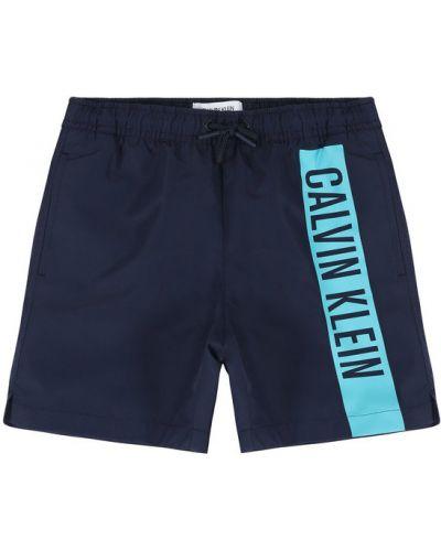Szorty - granatowe Calvin Klein Swimwear