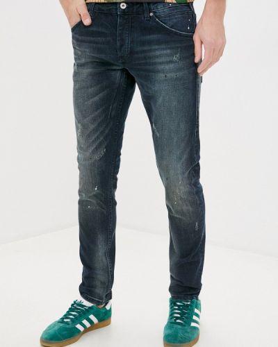 Синие зауженные джинсы-скинни Scotch&soda