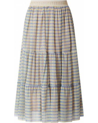 Spódnica rozkloszowana - niebieska Rich & Royal