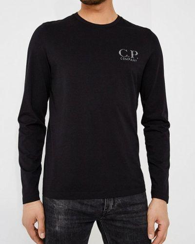 Черный лонгслив C.p. Company