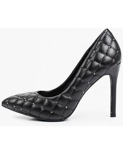 Черные кожаные туфли-лодочки Sergio Todzi