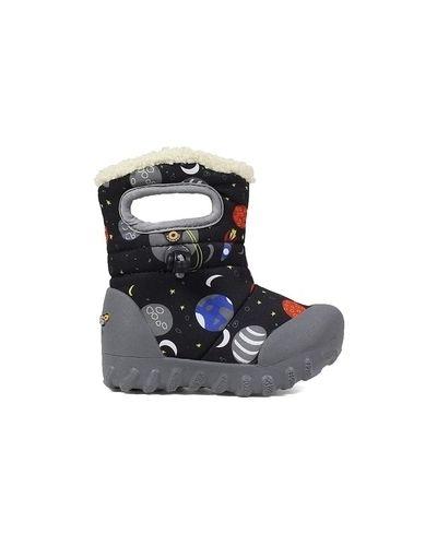Водонепроницаемые черные зимние ботинки Bogs