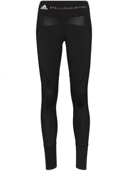 Брюки черные эластичные Adidas By Stella Mccartney