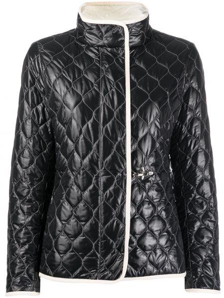 Стеганая куртка черная Fay