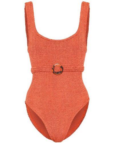 Оранжевый купальник Hunza G