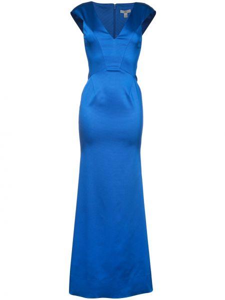 Вечернее платье - синее Zac Zac Posen