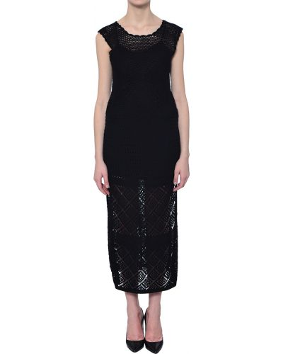 Хлопковое платье - черное Twin-set