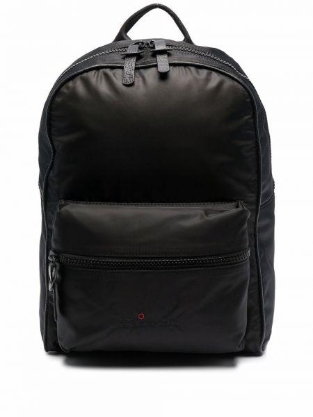 Рюкзак из полиэстера - черный Kiton