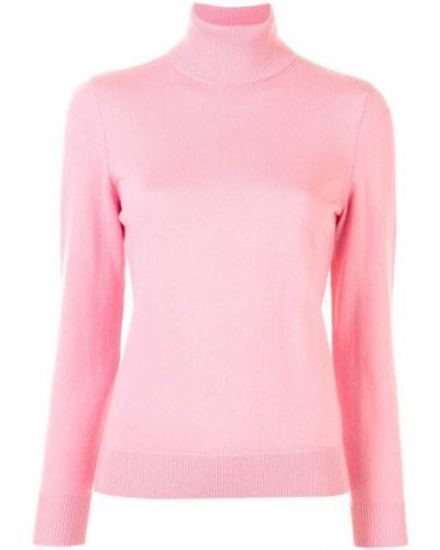 Шерстяные брюки - розовый A.p.c.