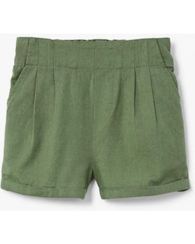 Зеленые шорты Mango Kids
