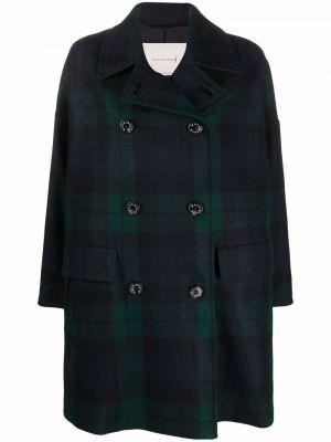 Черное пальто в клетку Mackintosh