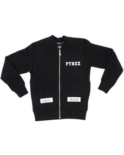 Czarna bluza dresowa Pyrex