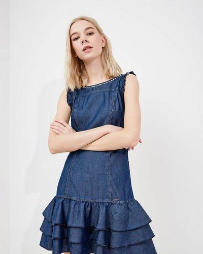 Джинсовое платье весеннее синее Liu Jo Jeans