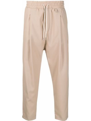 Beżowe spodnie wełniane Drole De Monsieur