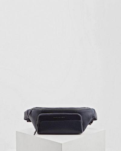 Спортивная сумка поясная кожаная Piquadro