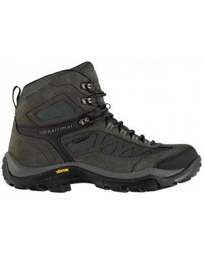 Кожаные ботинки - черные Karrimor