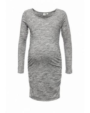 Повседневное серое платье для беременных Gap Maternity