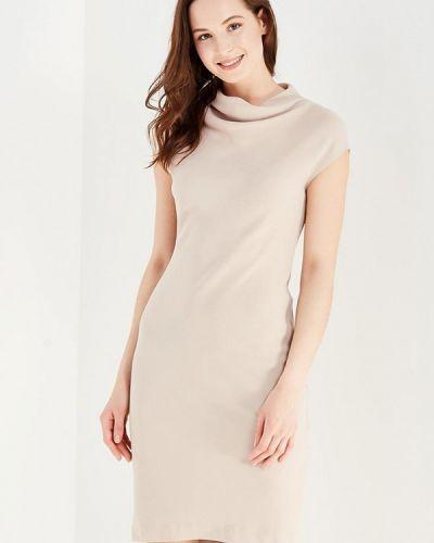 Повседневное платье бежевое Levall
