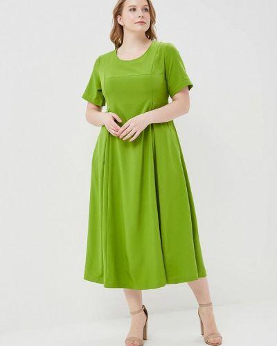 Платье весеннее зеленый Svesta
