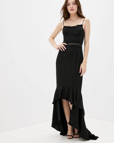 Черное вечернее платье True Decadence