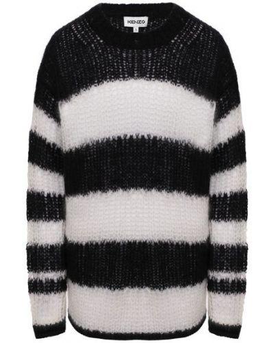 Шерстяной свитер - белый Kenzo