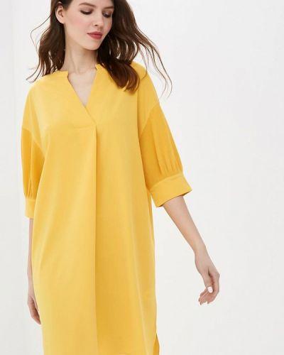 Желтое платье Sela
