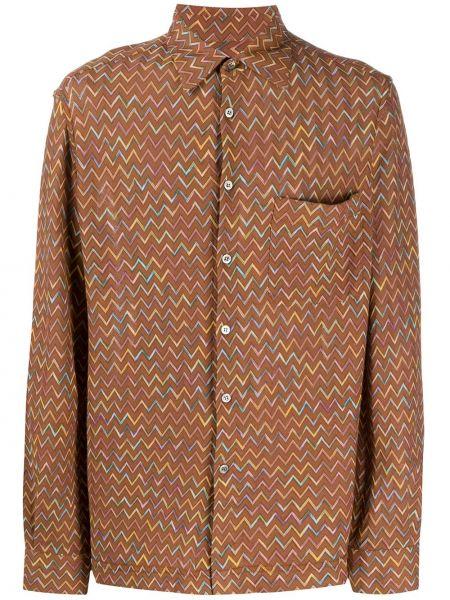 Koszula z długim rękawem klasyczna prosto Missoni