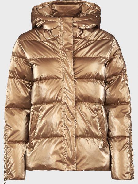 Коричневая куртка на молнии Pinko