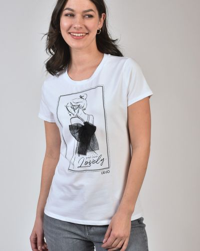 Хлопковая футболка Liu Jo Jeans