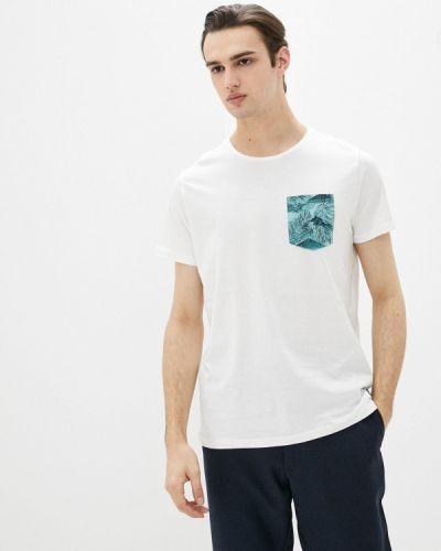 Белая футболка с короткими рукавами Blend
