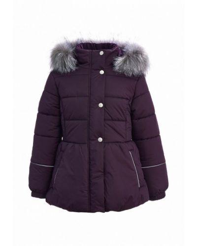 Фиолетовая куртка теплая Kisu