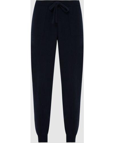 Повседневные синие кашемировые брюки Allude