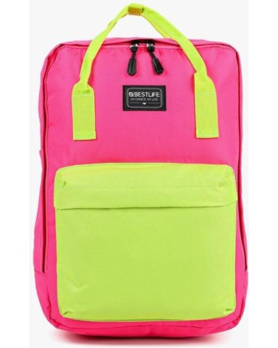 Рюкзак розовый Bestlife