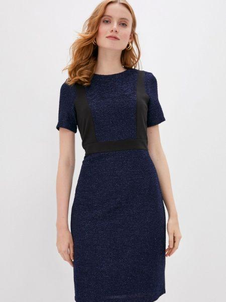 Прямое синее платье Gerry Weber