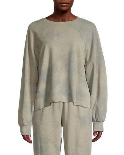 Пуловер мятный с длинными рукавами Lucca