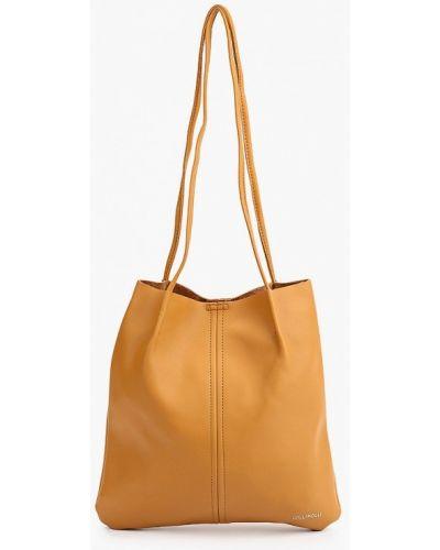 Коричневая весенняя сумка Lolli L Polli