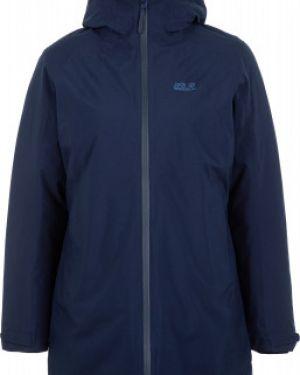 Куртка с капюшоном утепленная спортивная Jack Wolfskin