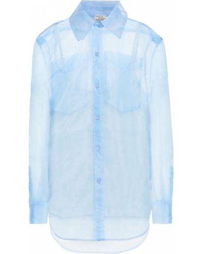Рубашка из органзы - синяя Baum Und Pferdgarten