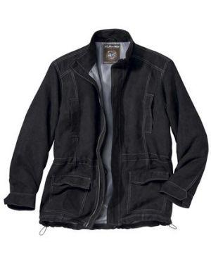 Куртка черная замшевая Atlas For Men