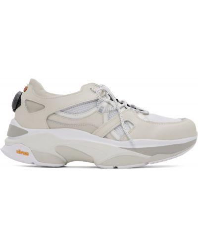Skórzane sneakersy białe z siatką Andersson Bell