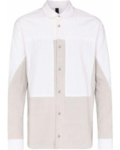 Biała koszula z długimi rękawami Byborre